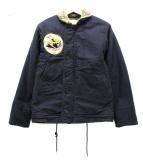 Buzz Ricksons(バズリクソンズ)の古着「N-1デッキジャケット」|ネイビー