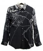 JIL SANDER(ジルサンダー)の古着「シルクレーヨンプリントシャツ」