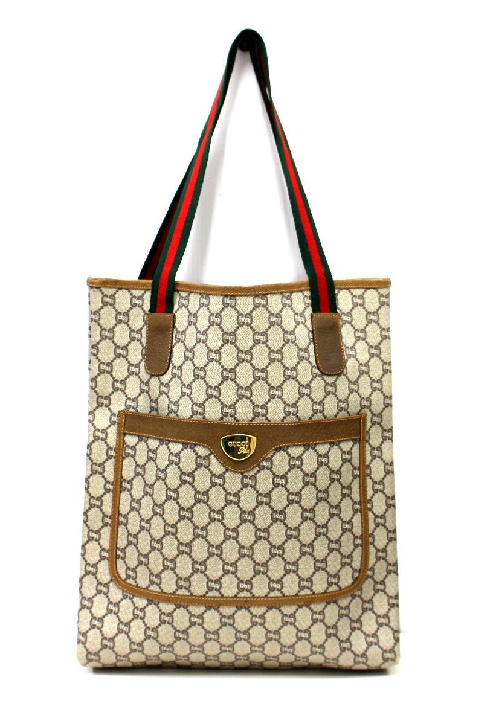 sale retailer 4ce9c dd3ed [中古]GUCCI PLUS(グッチプラス)のレディース バッグ ヴィンテージトートバッグ