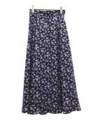 JUSGLITTY(ジャスグリッティー)の古着「小花フレアスカート」