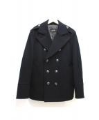 BURBERRY BLACK LABEL(バーバリーブラックレーベル)の古着「ラムウールPコート」