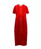LAGUNA MOON(ラグナムーン)の古着「LADYジオメトリックレースドレス」