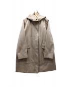 FIGARO Paris(フィガロ パリ)の古着「フーデッドサテンコート」