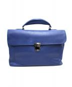ZANELLATO(ザネラート)の古着「2WAYビジネスバッグ」|ブルー