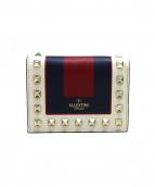 VALENTINO(ヴァレンティノ)の古着「ロックスタッズミニ財布」