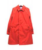 THE NORTH FACE PURPLE LABEL(ザノースフェイス パープルレーベル)の古着「ステンカラーコート」|レッド