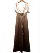 eimy istoire(エイミー イストワール)の古着「シfドンドルマンドッキングジャンプスーツ」 ベージュ
