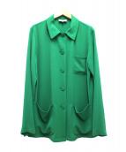 agnes b(アニエスベー)の古着「デザインシャツ」|グリーン