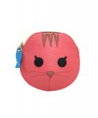 FURLA(フルラ)の古着「ネコ型コインケース」|ピンク