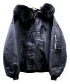 Rags McGREGOR(ラグスマックレガー)の古着「N-2Bジャケット」|ブラック