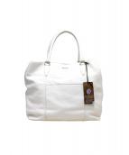 ZANELLATO(ザネラート)の古着「2WAYトートバッグ」 ホワイト