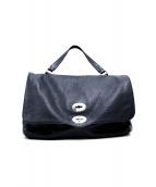 ZANELLATO(ザネラート)の古着「2WAYハンドバッグ」|ネイビー