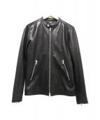 FREAK'S STORE(フリークスストア)の古着「シングルライダースジャケット」|ブラック