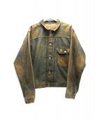 Levi's VINTAGE CLOTHING(リーバイスヴィンテージクロージング)の古着「1st復刻デニムジャケット」 インディゴ