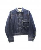 JOE McCOY(ジョーマッコイ)の古着「1stデニムジャケット」 インディゴ