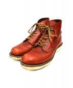 RED WING(レッドウィング)の古着「クラシックプレーントゥブーツ」|ブラウン