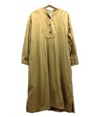 MHL.(エムエイチエル)の古着「ブラウスワンピース」|ベージュ