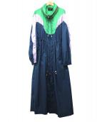ISABEL MARANT(イザベルマラン)の古着「ロングウォータープルーフコート」 マルチカラー