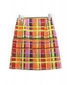 CABAN(キャバン)の古着「ハイウエストスカート」|マルチカラー