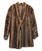 SAGA MINK(サガミンク)の古着「ミンクファーコート」|ブラウン