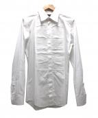 DOLCE & GABBANA(ドルチェ&ガッバーナ)の古着「デザインドレスシャツ」|ホワイト