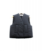 MELITTA BAUMEISTER(メリッタ バウマイスター)の古着「中綿ベスト」|ブラック