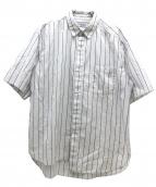 UNUSED(アンユーズド)の古着「オーバーサイズカットオフシャツ」|ホワイト