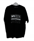 MARTINE ROSE(マーティン ローズ)の古着「プリントTシャツ」 ブラック