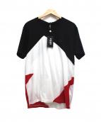 VERSUS VERSACE(ヴェルサス ヴェルサーチ)の古着「Tシャツ」|ホワイト×ブラック