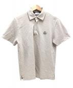 MONCLER(モンクレール)の古着「ポロシャツ」|ブラウン