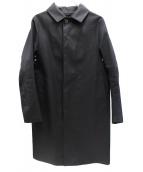 MACKINTOSH(マッキントッシュ)の古着「ゴムステンカラー引きコート」|ブラック