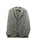 TAGLIATORE(タリアトーレ)の古着「2Bジャケット」|グリーン