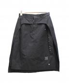 noir kei ninomiya(ノワール ケイ ニノミヤ)の古着「デザインスカート」|ブラック