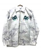 MAGIC STICK(マジックスティック)の古着「アサシンシャツジャケット」|グリーン