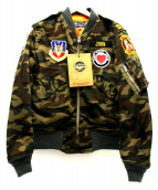 Buzz Ricksons(バズリクソンズ)の古着「L-2Bジャケット」|カーキ
