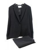 UNTITLED(アンタイトル)の古着「ドレッサーミッションスカートスーツ」|ブラック