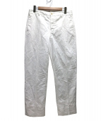 LEMAIRE(ルメール)の古着「センタープレスパンツ」|ホワイト