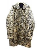 LEONARD(レオナール)の古着「中綿コート」|ゴールド