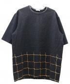 CMMN SWDN(コモン スウェーデン)の古着「ビッグシルエットTシャツ」|グレー