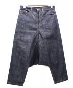 YOHJI YAMAMOTO(ヨウジヤマモト)の古着「サルエルパンツ」|インディゴ