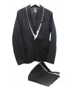 ALEXANDER McQUEEN(アレキサンダー マックイーン)の古着「セットアップスーツ」|ブラック
