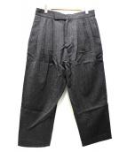 STUDIO NICHOLSON(スタジオニコルソン)の古着「パンツ」|グレー