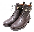 VALENTINO(バレンチノ)の古着「ブーツ」 ブラウン