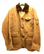 POLO RALPH LAUREN(ポロ・ラルフローレン)の古着「ダウンベスト付サファリジャケット」|ブラウン