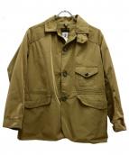 CORONA(コロナ)の古着「ワークジャケット」 ベージュ