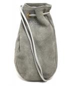 5525gallery × PORTER(ゴーゴーニーゴーギャラリー×ポーター)の古着「巾着ポーチ」|グレー