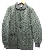 HANCOCK(ハンコック)の古着「キルティングジャケット」|カーキ