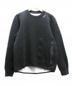 NIKE ACG(ナイキエーシージ)の古着「TECH FLEECE CREW」|ブラック