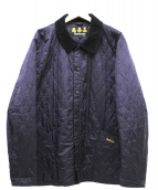 Barbour(バブアー)の古着「キルティングコート」|ネイビー