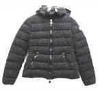 MONCLER(モンクレール)の古着「ツイードダウンジャケット」|ブラック